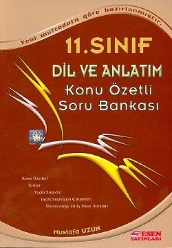 Esen 11. Sınıf Dil ve Anlatım Soru Bankası
