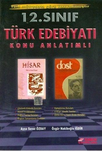 Esen 12.Sınıf Türk Edebiyatı Konu Anlatım