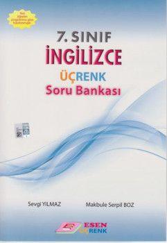 Esen Üçrenk Yayınları 7. Sınıf İngilizce Soru Bankası