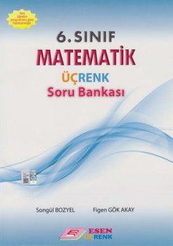 Esen Üçrenk Yayınları 6. Sınıf Matematik Soru Bankası