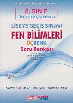 Esen Üçrenk Yayınları 8. Sınıf LGS Fen Bilimleri Soru Bankası