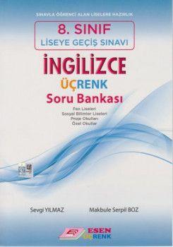 Esen Üçrenk Yayınları 8. Sınıf LGS İngilizce Soru Bankası