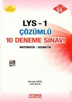 Esen LYS 1 Matematik Geometri Çözümlü 10 Deneme Sınavı