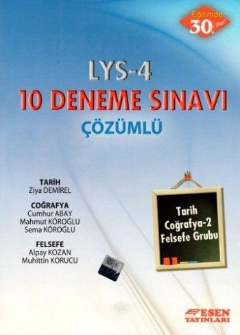 Esen LYS 4 Çözümlü 10 Deneme