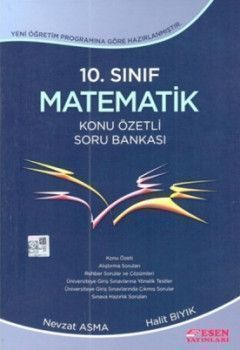Esen Yayınları 10. Sınıf Matematik Konu Özetli Soru Bankası