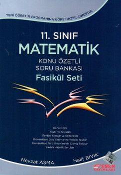 Esen Yayınları 11. Sınıf Matematik Konu Özetli Soru Bankası Fasikül Seti