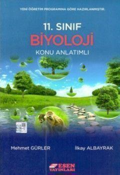 Esen Yayınları 11. Sınıf Biyoloji Konu Anlatımlı