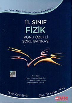 Esen Yayınları 11. Sınıf Fizik Konu Özetli Soru Bankası