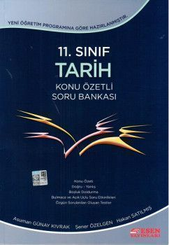 Esen Yayınları 11. Sınıf Tarih Konu Özetli Soru Bankası