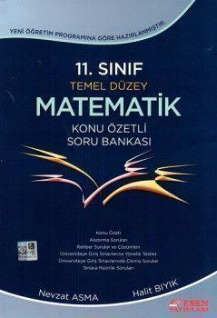 Esen Yayınları 11. Sınıf Temel Düzey Matematik Konu Özetli Soru Bankası