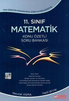 Esen Yayınları 11. Sınıf Matematik Konu Özetli Soru Bankası