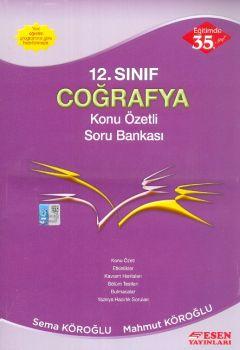 Esen Yayınları 12. Sınıf Coğrafya Konu Özetli Soru Bankası