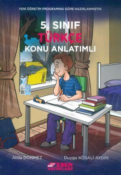 Esen Yayınları 5. Sınıf Türkçe Konu Anlatımlı