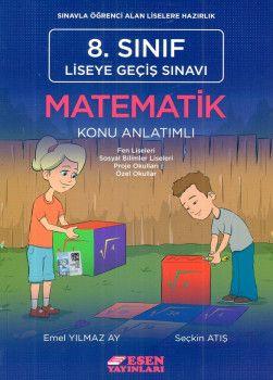 Esen Yayınları 8. Sınıf LGS Matematik Konu Anlatımlı