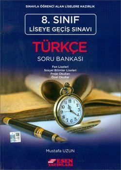Esen Yayınları 8. Sınıf LGS Türkçe Soru Bankası
