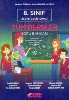 Esen Yayınları 8. Sınıf LGS Tüm Dersler Soru Bankası