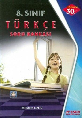 Esen Yayınları 8. Sınıf Türkçe Soru Bankası