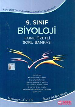 Esen Yayınları 9. Sınıf Biyoloji Konu Özetli Soru Bankası