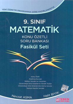 Esen Yayınları 9. Sınıf Matematik Konu Özetli Soru Bankası Fasikül Set