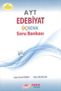 Esen Yayınları AYT Edebiyat Üçrenk Soru Bankası
