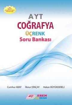 Esen Yayınları AYT Coğrafya Üçrenk Soru Bankası