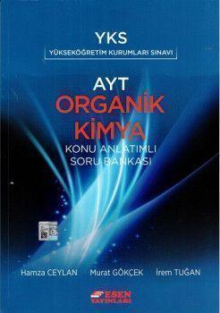 Esen Yayınları AYT Organik Kimya Konu Anlatımlı Soru Bankası