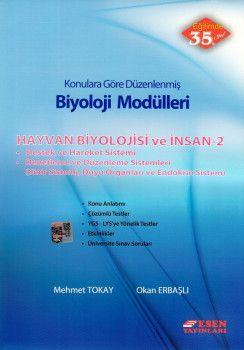 Esen Yayınları Biyoloji Modülleri Hayvan Biyolojisi ve İnsan 2