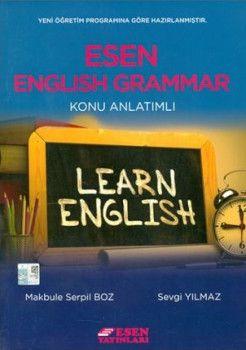 Esen Yayınları English Grammar Konu Anlatımlı