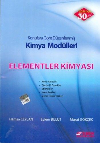 Esen Yayınları Kimya Modülleri Elementer Kimyası