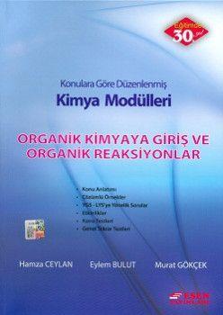 Esen Yayınları Kimya Modülleri Organik Kimyaya Giriş ve Organik Reaksiyonlar