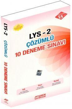 Esen Yayınları LYS 2 Çözümlü 10 Deneme Sınavı
