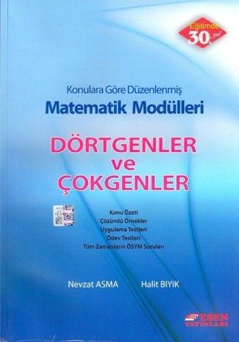 Esen Yayınları Matematik Modülleri Dörtgenler ve Çokgenler