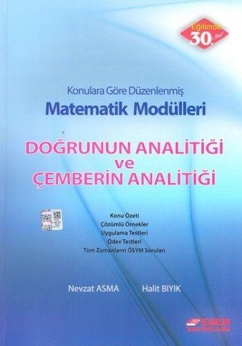 Esen Yayınları Matematik Modülleri Doğrunun Analitiği ve Çemberin Analitiği
