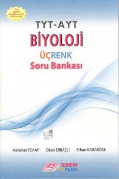 Esen Yayınları TYT AYT Biyoloji Üçrenk Soru Bankası