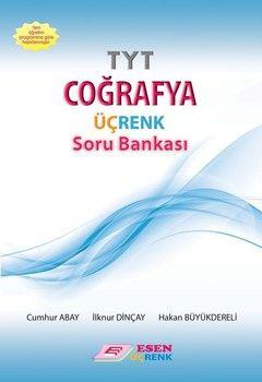 Esen Yayınları TYT Coğrafya Üçrenk Soru Bankası