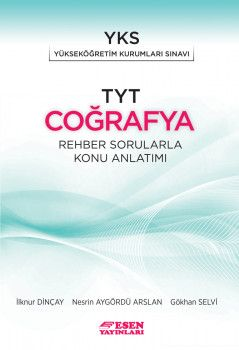 Esen Yayınları TYT Coğrafya Rehber Sorularla Konu Anlatımı