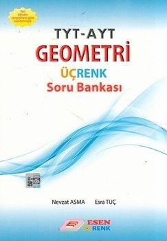 Esen Yayınları TYT AYT Geometri Üçrenk Soru Bankası