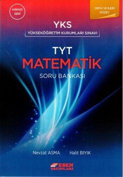 Esen Yayınları TYT Orta ve İleri Düzey Matematik Soru Bankası Kırmızı Seri
