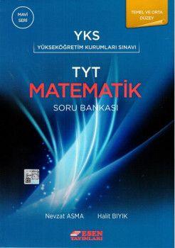 Esen Yayınları TYT Matematik Temel ve Orta Düzey Soru Bankası Mavi Seri