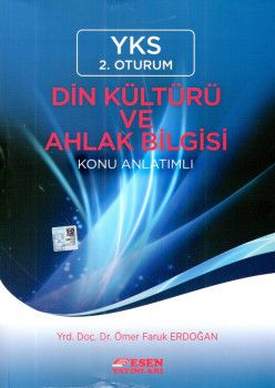 Esen Yayınları YKS 2. Oturum Din Kültürü ve Ahlak Bilgisi Konu Anlatımlı