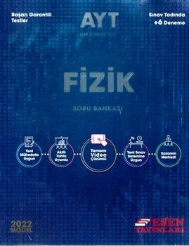 Esen Yayınları2022 AYT Fizik Soru Bankası