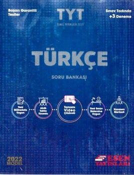 Esen Yayınları2022 TYT Türkçe Soru Bankası
