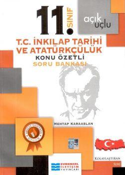 Evrensel İletişim 11. Sınıf T.C. İnkılap Tarihi ve Atatürkçülük Konu Özetli Soru Bankası