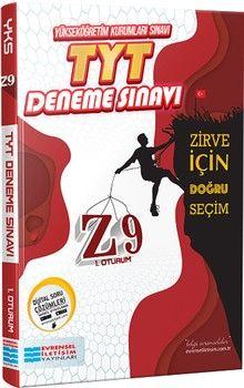 Evrensel İletişim Yayınları TYT Z9 Video Çözümlü Deneme Sınavı