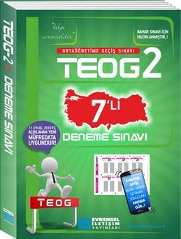 Evrensel İletişim 8. Sınıf TEOG 2 Deneme Sınavı 7 li