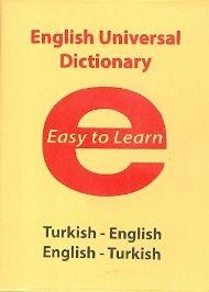 Evrensel İletişim İlköğretim Türkçe İngilizce - İngilizce - Türkçe Sözlük