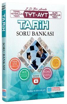 Evrensel İletişim Yayınları TYT AYT Tarih Video Çözümlü Soru Bankası
