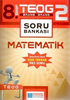 Evrensel İletişim 8. Sınıf TEOG 2 Matematik Soru Bankası