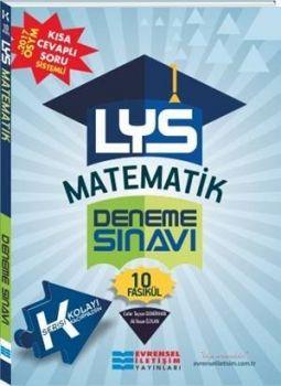 Evrensel İletişim Yayınları LYS Matematik Kolay 10 Fasikül Deneme Sınavı