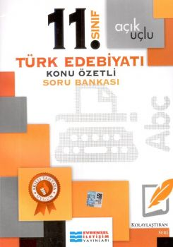 Evrensel İletişim Yayınları 11. Sınıf Türk Edebiyatı Konu Özetli Soru Bankası